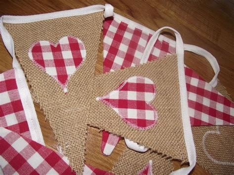 Handmade Bunting - handmade bunting with gingham
