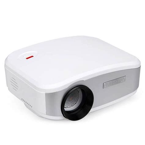 Lu Projector Lcd cheerlux c6 lcd projector home theater white