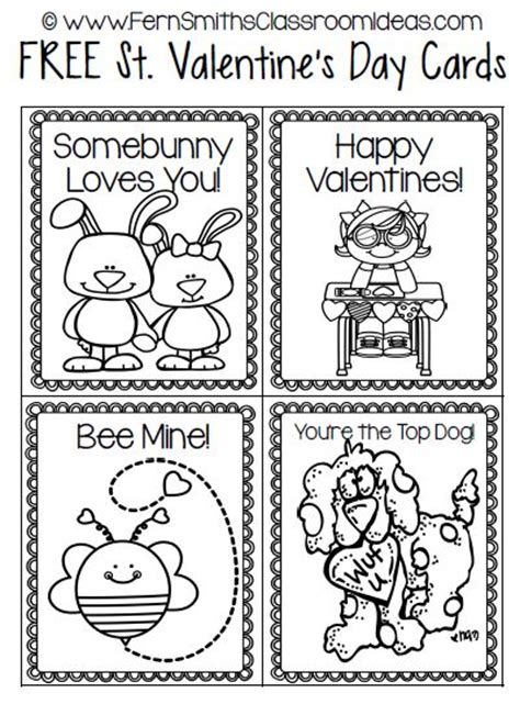 black and white valentines day card template fern s freebie friday st s card freebie