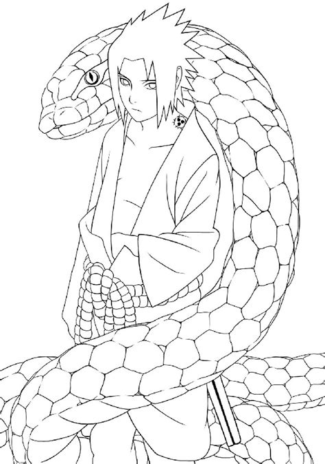 Anime Sasuke Coloring Pages Download Cool Hd Wallpapers Cool Anime Coloring Pages