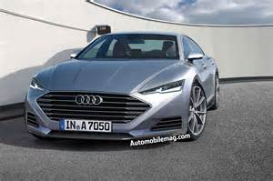 2017 Audi A7 Photo Gallery Dive The 2017 Audi A7 Gets Squeezed