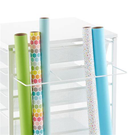 elfa gift wrap organizer white elfa gift wrap organizer the container store