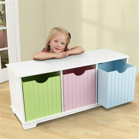 kidkraft nantucket storage bench pastel kidkraft nantucket pastel storage bench 14565 toy