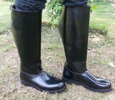Shoes Mux 1 mux leather polo jumping cow boy boot custom made boots cow