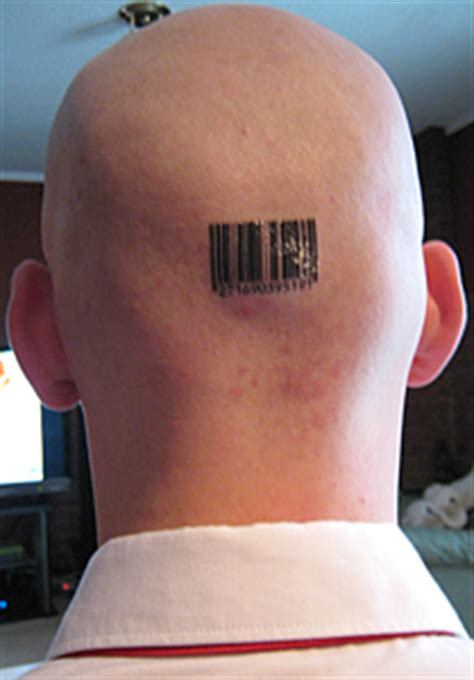 barcode tattoo on head favorite barcode tattoo for bald men on head tattooshunt com