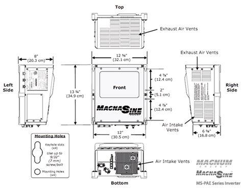 magnum inverter wiring diagram newmar inverter wiring