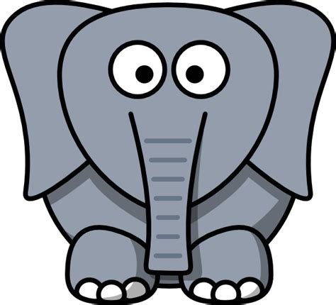 easy to draw clipart easy to draw elephant clipart best
