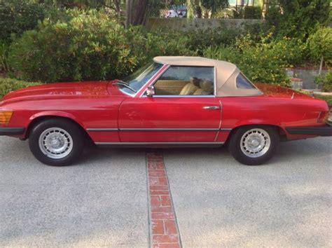 mercedes southern california 1980 mercedes 450sl southern california time capsule with