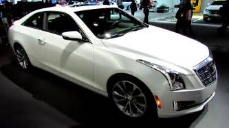 Cadillac Ats Coupe White Cadillac Cts Coupe Custom Wheels Wallpaper 1600x900 30804