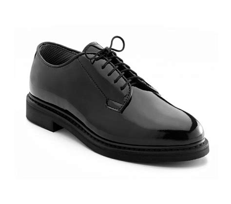 rothco oxford shoes 5055 rothco high gloss patent leather dress oxford