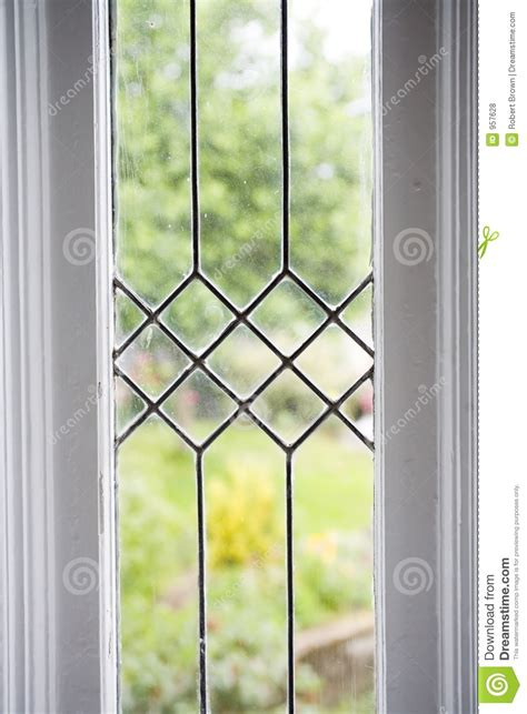 Glass Windows Stock Photo Of A Leaded Glass Window Stock Photo Image