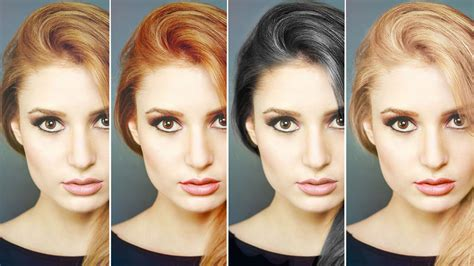 How To Change Hairstyle In Photoshop Cs6 by Photoshopped Hair Color Looks Really Strayhair Of 29
