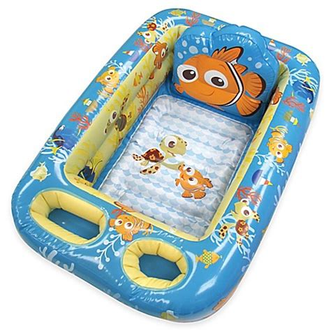 inflatable bed bathtub buy disney 174 nemo inflatable bath tub from bed bath beyond