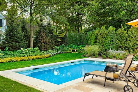 Swimming Pool In Small Backyard Small Yard Pool Ideas Studio Design Gallery Best Design
