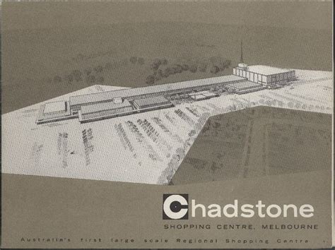 brochure chadstone shopping centre floor plan 1960
