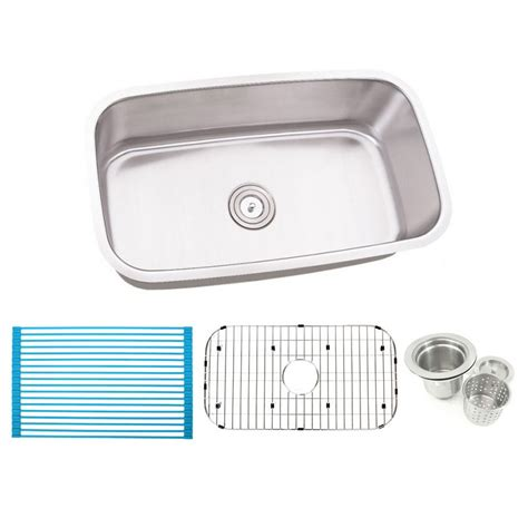 30 stainless steel sink 30 inch stainless steel undermount single bowl kitchen