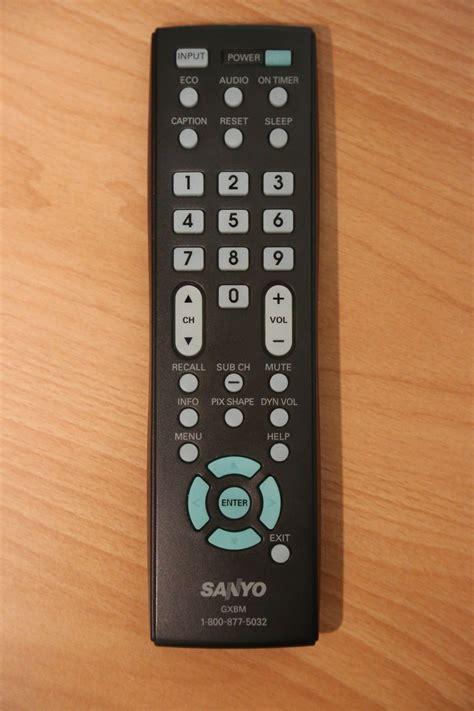 Sale Remot Tv Sanyo Lcdledtabung sanyo gxbm remote lcd tv dp32640 dp42740 dp42841