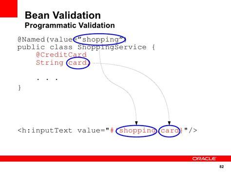 pattern bean validation java e