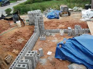 how to build a cinder block wall block fence wall fences