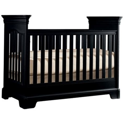 america black crib nursery