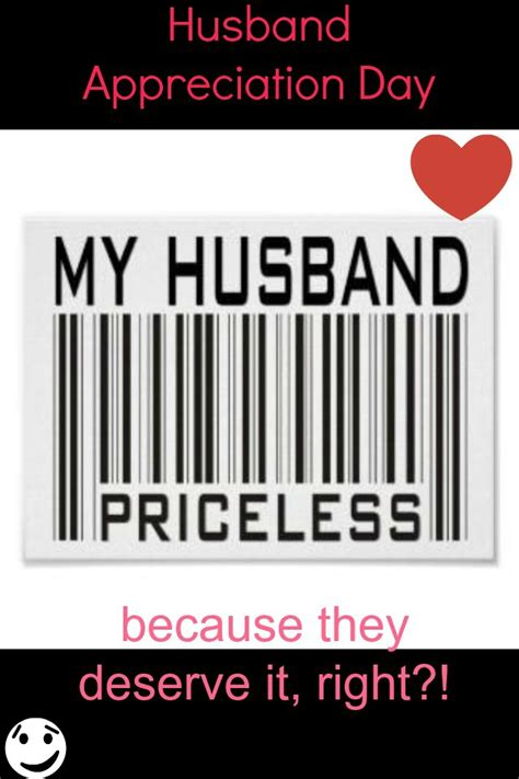 day husband today is husband appreciation day