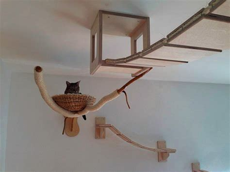 Cat Ceiling by 3d Cat Furniture Set Modular Hangouts For Walls