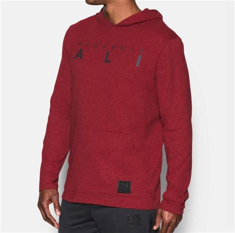 Sweater Armour Muhammad Ali K21 armour muhammad ali wordmark hoodie