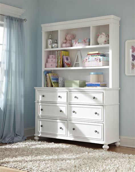 dresser with bookcase hutch dresser with 6 drawers and bookcase hutch