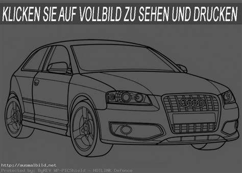 Auto Malvorlage by Audi S3 Ausmalbild