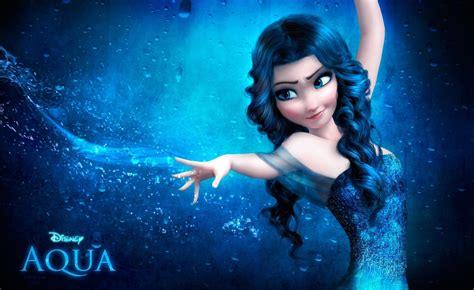 Aqua by Disney Princess Images Walt Disney Fan Art Queen Elsa Hd