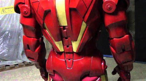 iron man cosplay test youtube
