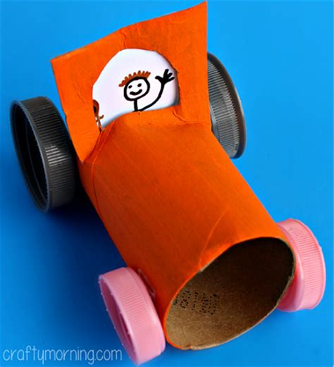 car craft for simple toilet paper roll car craft for crafty morning