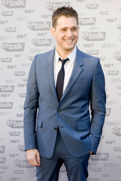Buble Fit michael buble picture 8 the 2009 juno awards carpet