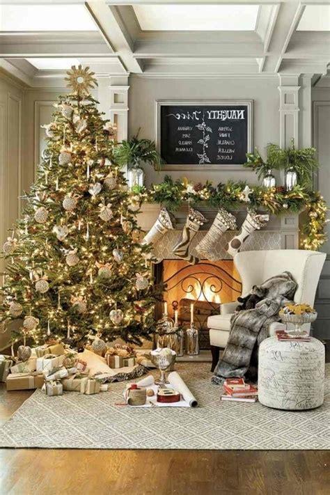 dekoideen weihnachtsbaum wohnzimmer dekorieren weihnachten