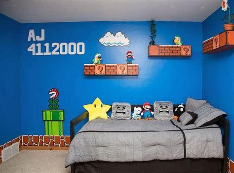 Mario Wall Mural th 232 me minecraft ou mario pour la chambre du fiston