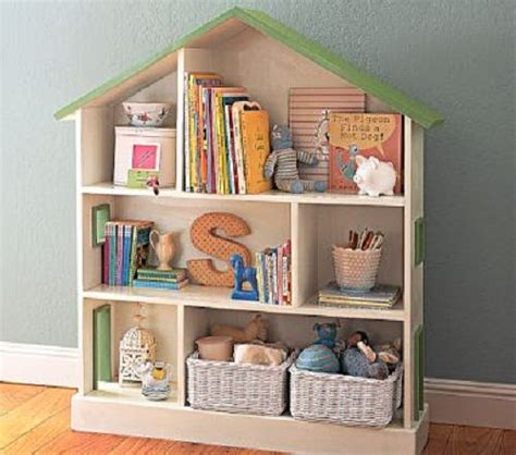 this dollhouse shaped bookshelf baby nursery