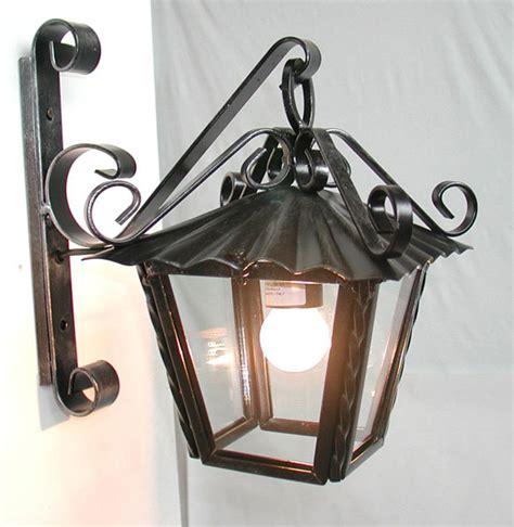 applique da esterno in ferro battuto antica soffitta applique lanterna 30cm da parete esterno