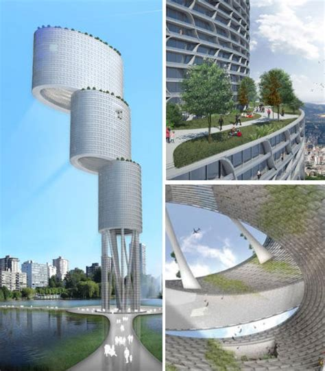 the future is green 12 visionary architecture concepts webecoist