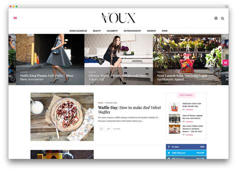 layout fashion blog top wordpress newspaper themes to build news websites