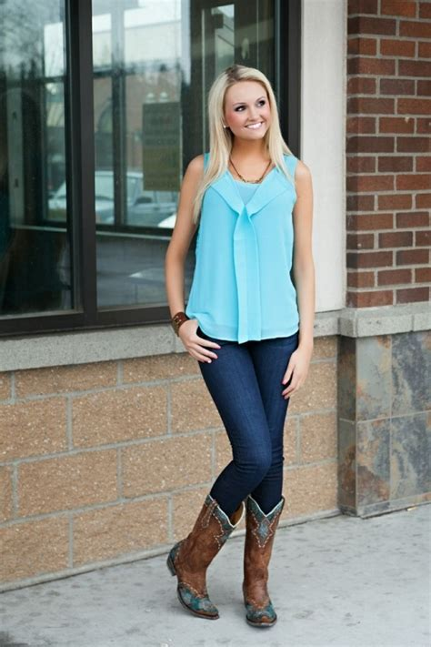 how to wear cowboy boots for the best way to wear boots with nationtrendz