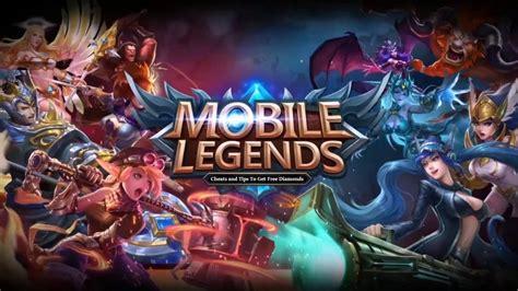 mobile legends cheats  tips    diamonds
