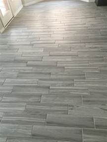 porcelain wood look tile pattern