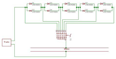 ir diode widerstand widerstand f 252 r bremsstecke m gleis stummis modellbahnforum