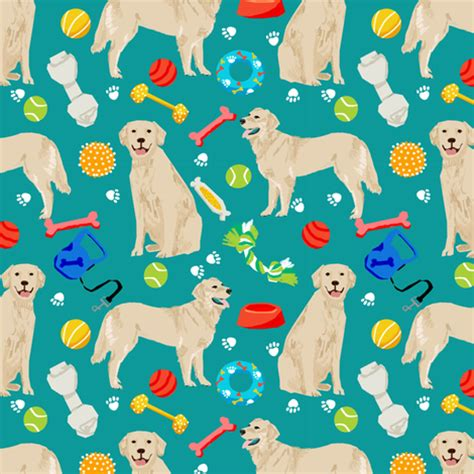 golden retriever fabric golden retrievers fabric dogs and toys design teal fabric petfriendly