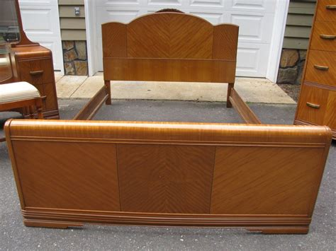 1940 bedroom furniture sold deco 1940 waterfall 4 pc 1940s bedroom furniture uhuru furniture collectibles
