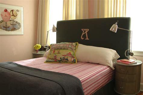 monogrammed headboards monogrammed headboard transitional girl s room