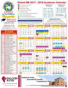 Cod Academic Calendar Back To School United Independent School District