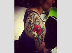 24+ Tribal Shoulder Tattoo Designs, Ideas | Design Trends ... Tribal Print Pattern Black And White