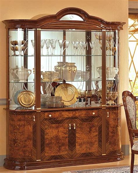China Closet by 4 Door China Cabinet Minerva European Design Made In Italy 33d38