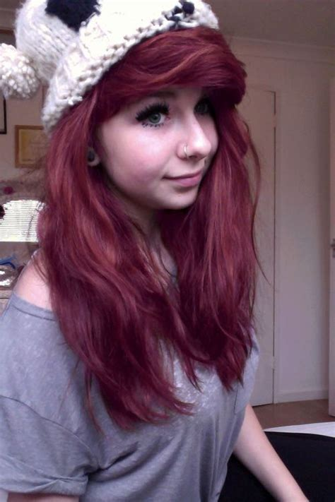cute color hairstyles tumblr tumblr girls be having cute hair just browsing bookcity